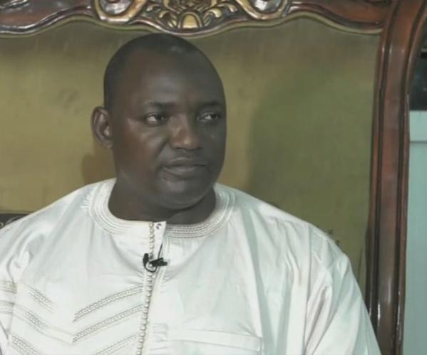 """Adama Barrow, le président élu de la Gambie : """"Je ferai qu'un mandat de 3 ans!!!"""""""