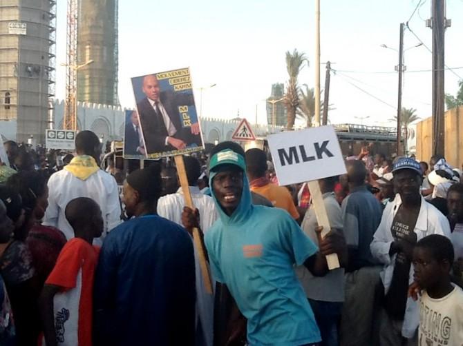 Soutien à Bamba Fall: Le MLK de tout cœur avec Bamba FALL