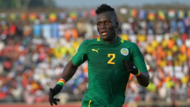 Kara Mbodj double la mise pour le Sénégal. senegal 2 Tunisie 0