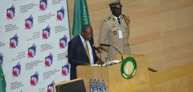 Le président guinéen Alpha Condé a été élu par ses pairs, président de l'Union africaine (UA) en remplacement du président tch...