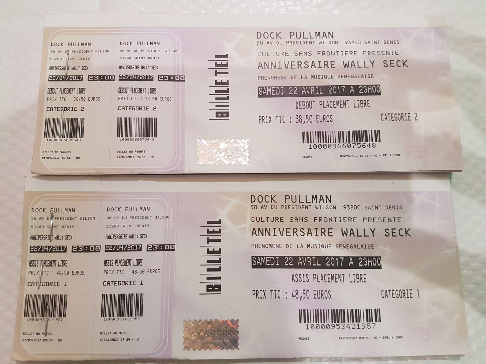 Anniversaire Waly Seck au Dock Pullman, les billets sont déjà disponibles. CONTACT: 0627299820 OMAR KANTE, 0615712700 Amsatou, 14 rue chabrol 75010 Paris Restaurant Pointe des Almadies