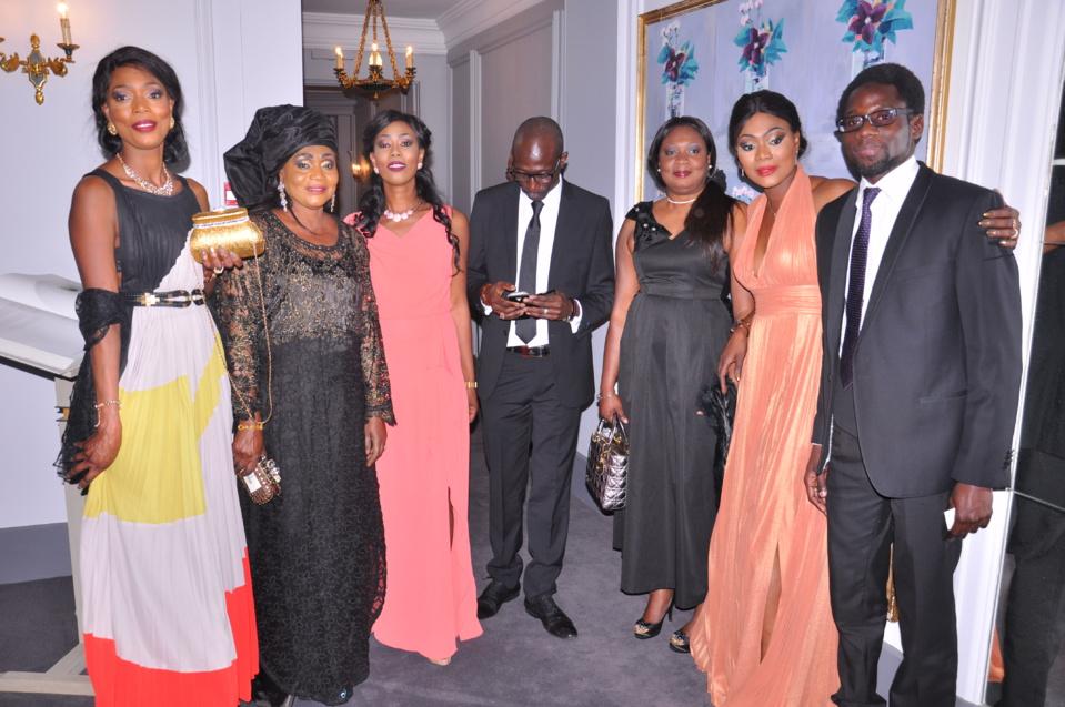 Vivez en images le cocktail de bienvenu de la soiréee de Gala Chic et Glamour à l'honneur de l'indépendance du Sénégal au Pavillon Le Doyen.