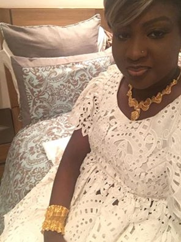 Carnet rose: Maguy Chanel et le ministre Birima Mangara baptisent leur enfant jeudi
