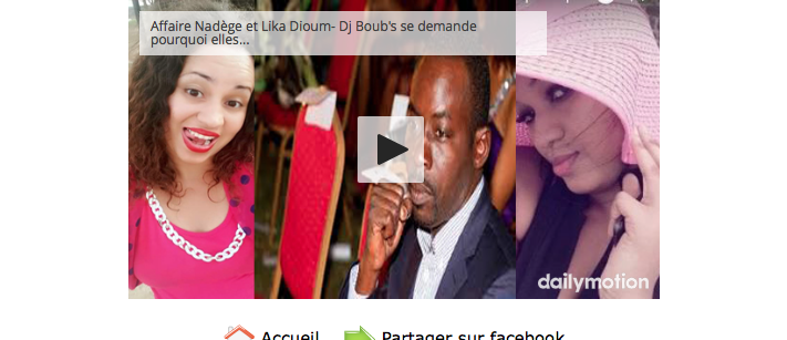 Audio-Affaire des photos dénudées de Lika Dioum: Dj Boub's se demande pourquoi elles ...