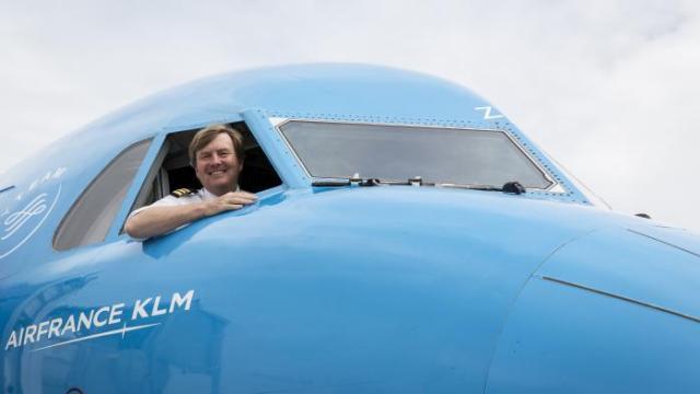 Le roi des Pays-Bas est secrètement pilote de ligne depuis 21 ans