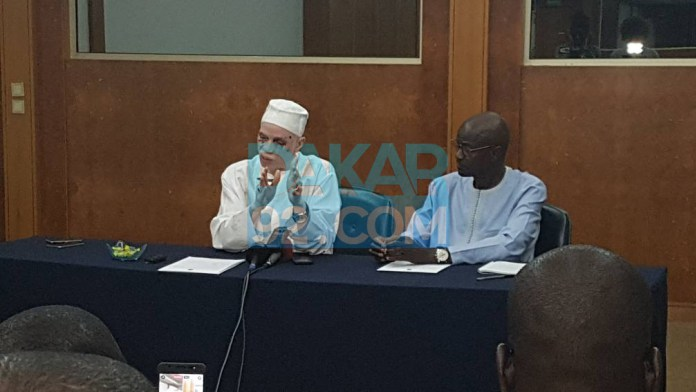 Conférence de presse Louis Lamotte et Mbaye Diouf Dia: Dénonciation du fichier des élections,de grosses fraudes en perspective