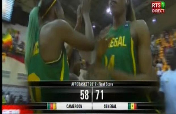 Afrobasket 2017 : C'est terminé. Victoire des Lionnes qui se qualifient en demi-finale