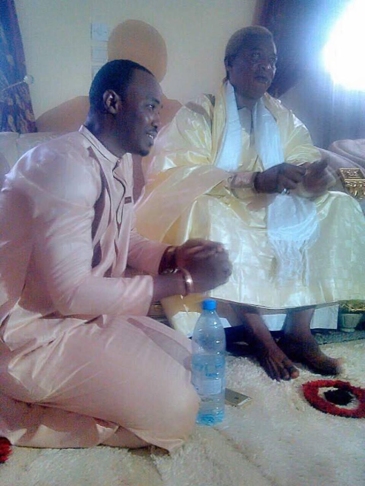 Cheikh Sarr, l'incontournable de la Zik FM chez Serigne Abdou Karim Mbacké à Ndindy;