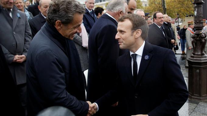 Sarkozy adresse des messages à Wauquiez et Macron