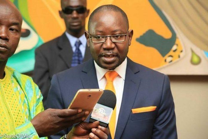 Urgent gambie le ministre de l int rieur mai fatty est for Le ministre de l interieur