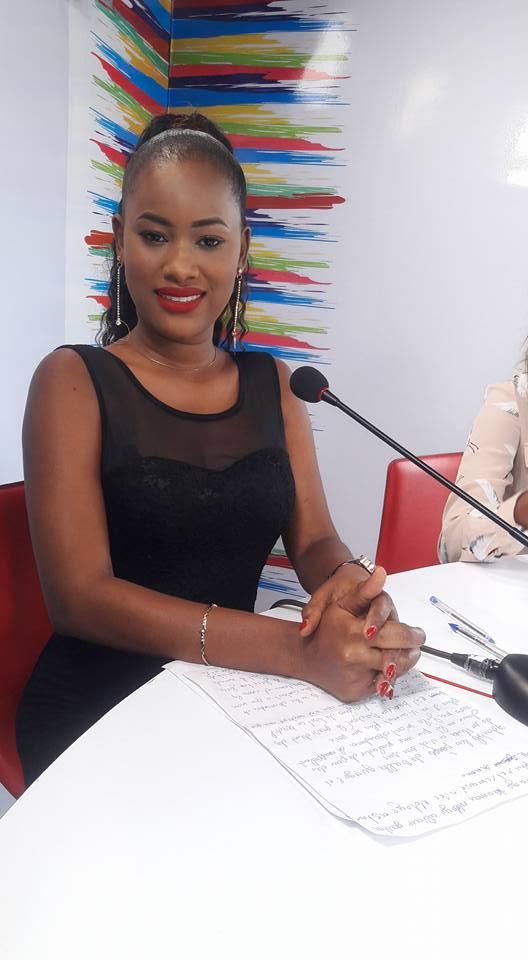 Khady Ka, l'ex-miss de Kaolack et animatrice à la Sentv