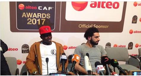 Ballon d'or africain: Arrivés à Accra, Sadio Mane et Mohamed Salah en …
