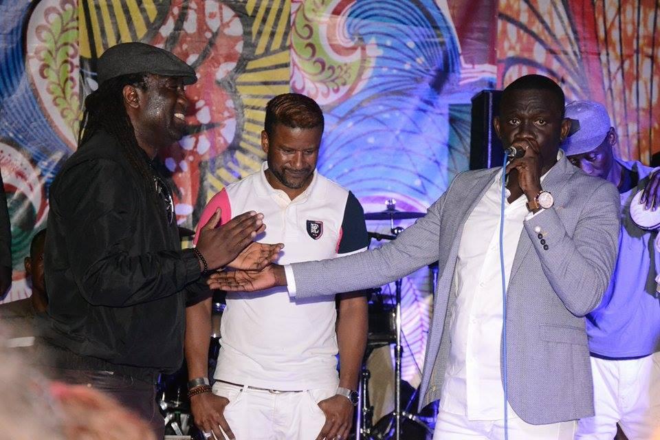 Première sortie de Pape Diouf en 2018, El Hadj Diouf en guest star au Saraba. Voici les 100 images.