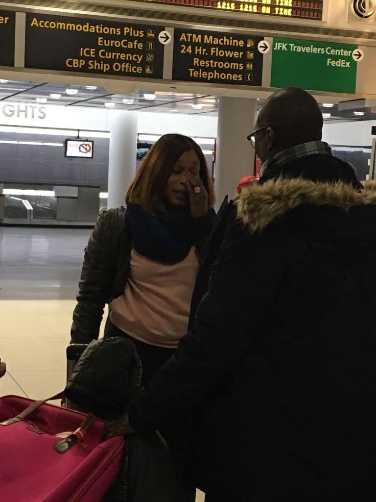 APAP NEW YORK 2018: Aida Samb arrive à l'aéroport John Federal Kennedy pour sa participation avec New African Production de Birane Sarr