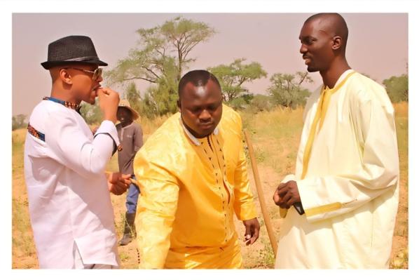 Modou Lô au baptême du fils de Yekini