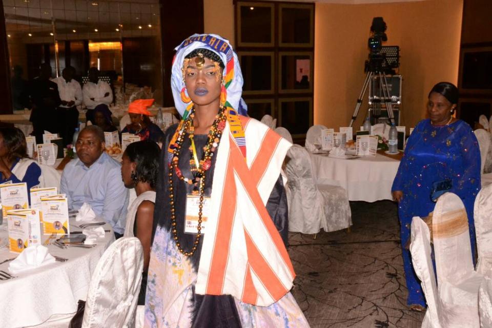 """100 IMAGES: Dîner de gala festival """"Chant des Linguères"""" avec Coumba Gawlo Seck au King Fahd Palace"""