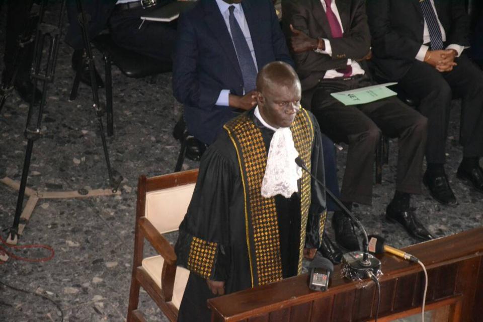 Mamadou Faye, tout nouveau président de la Cour des comptes, a prêté serment