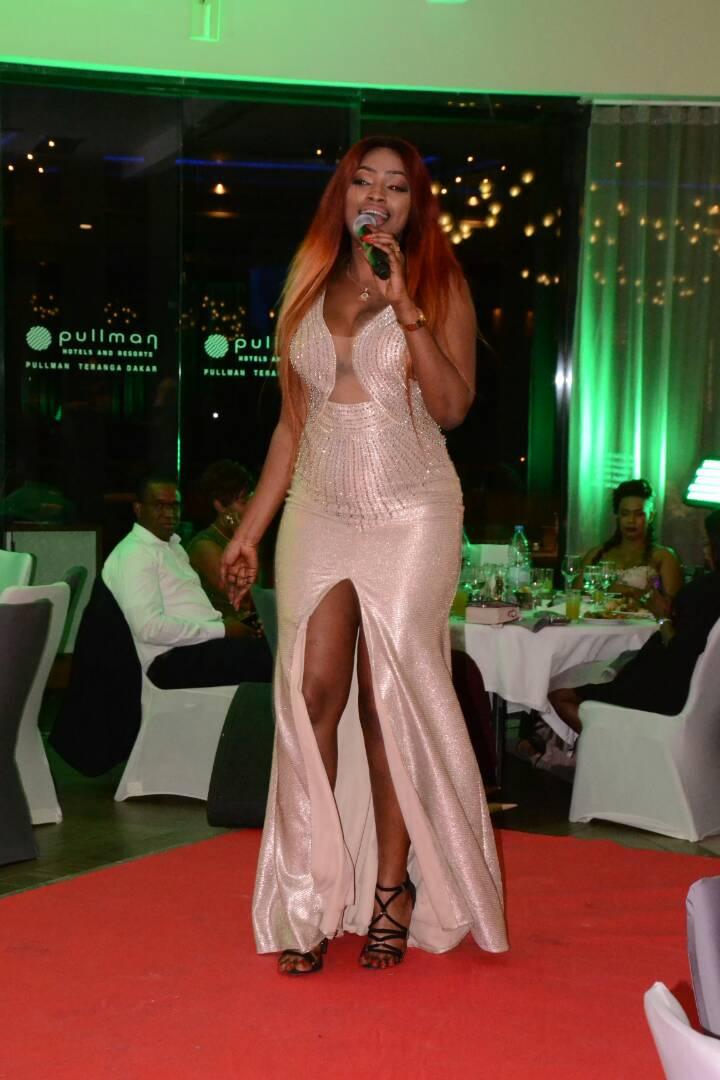 1 ere édition TAPIS rouge Mbathio Ndiaye,chauffe le lancement de la collection Mata Style à Pullman Dakar.