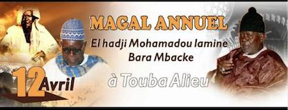 Journée Serigne Mouhamadou Lamine Bara et le magal du Kajou Radjab le 12 et 13 Avril à Touba