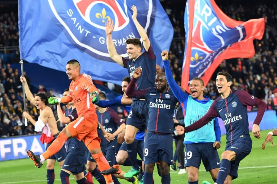 Images - Paris Saint Germain sacré champion de France