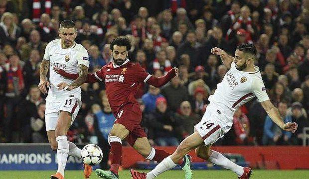 (Vidéo) (5-0): Liverpool donne la leçon à la Roma, Salah impliqué dans tous les buts