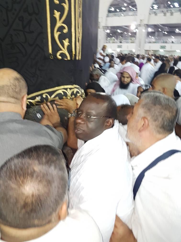 Le président Mbagnick Diop du MEDS à la Mecque.