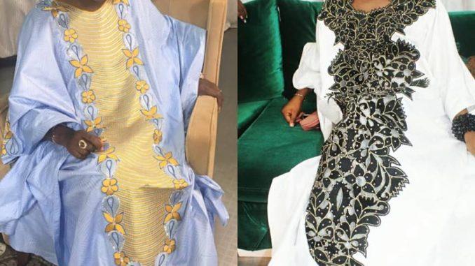 Bijou Sy de la Tfm gére bien sa grossesse en mode Grand Boubou sur le plateau de QG.