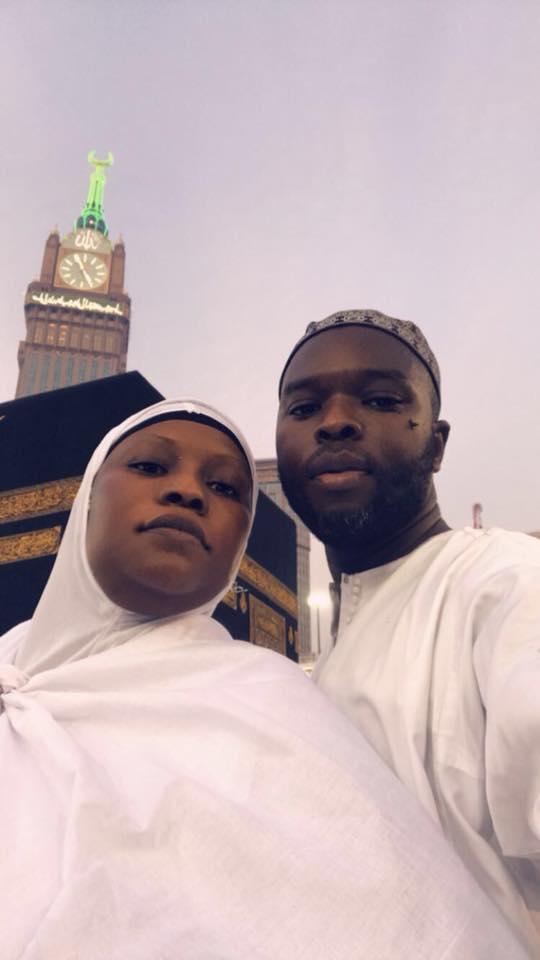 L'opératrice économique, madame Ndiaye Khady Dioum en mode Oumra à la Mecque