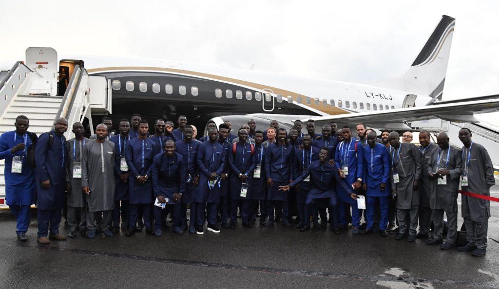 De Vittel à Kaluga, le film du voyage des « Lions » du Sénégal