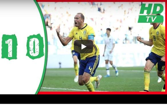 Vainqueur de la Corée du Sud, la Suède réussit ses débuts