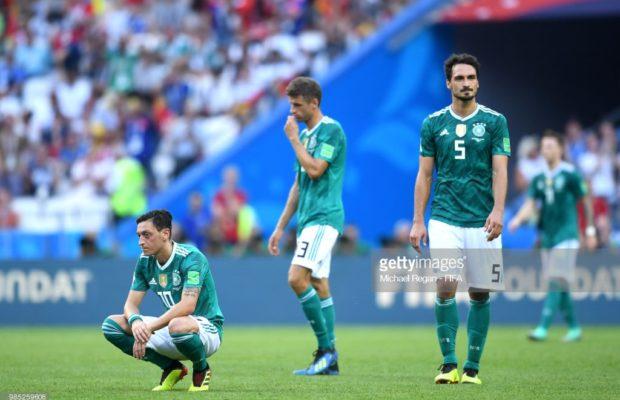 CDM 2018: Un géant du football Tombe. La Corée du sud élimine l'Allemagne