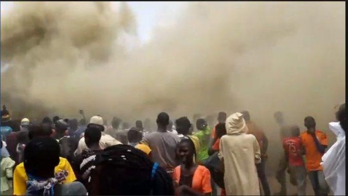 Un incendie déclaré au marché Ocas, Touba…