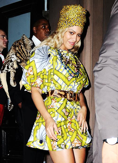 Beyoncé dit sa fierté de femme noire et descendante d'esclave et fière de l'être