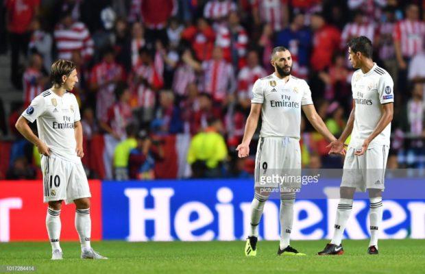 Super coupe d'Europe. Victoire de l'Atlético face au Real Madrid après prolongation