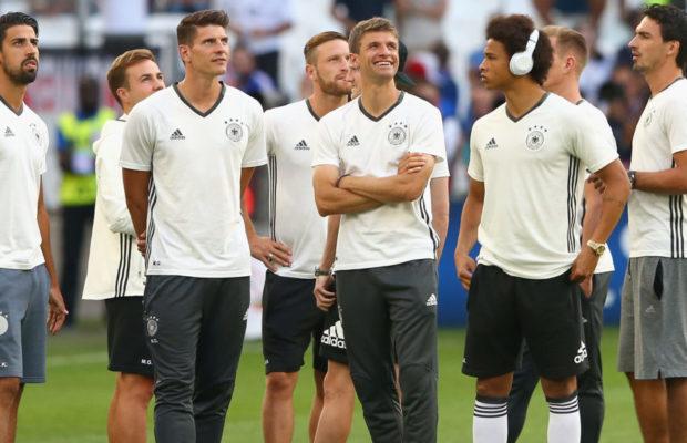 Allemagne : Thomas Müller n'est pas d'accord avec Toni Kroos pour Leroy Sané