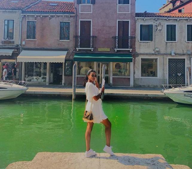 Léa Soukeyna Ndiaye poursuit ses vacances de rêve en Italie
