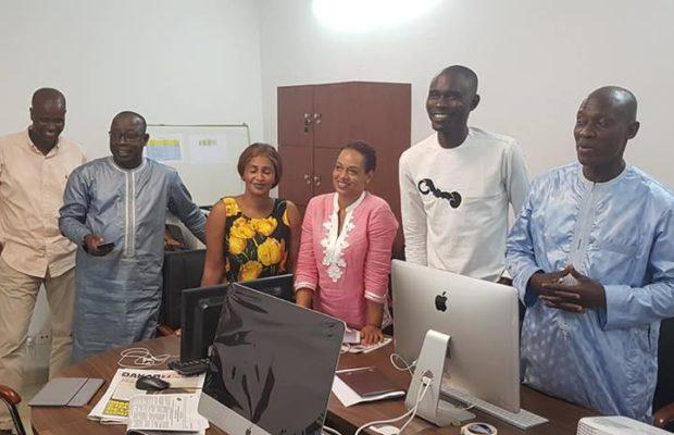 Les images du lancement officiel du groupe de presse de Mamoudou Ibra Kane, Alassane Samba Diop et DJ Boub's