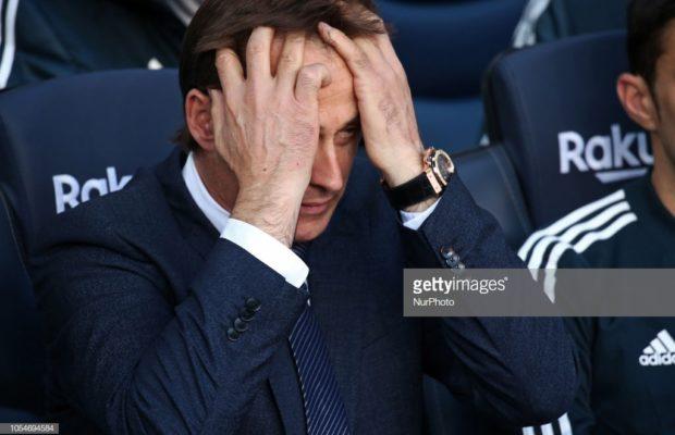 L'entraîneur du Real Madrid, Julen Lopetegui limogé par le Real Madrid, découvrez son remplaçant …