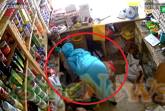 Video- Exclusive Ouakam : une femme en flagrant délit de vol de 3 millions de fcfa dans une boutique