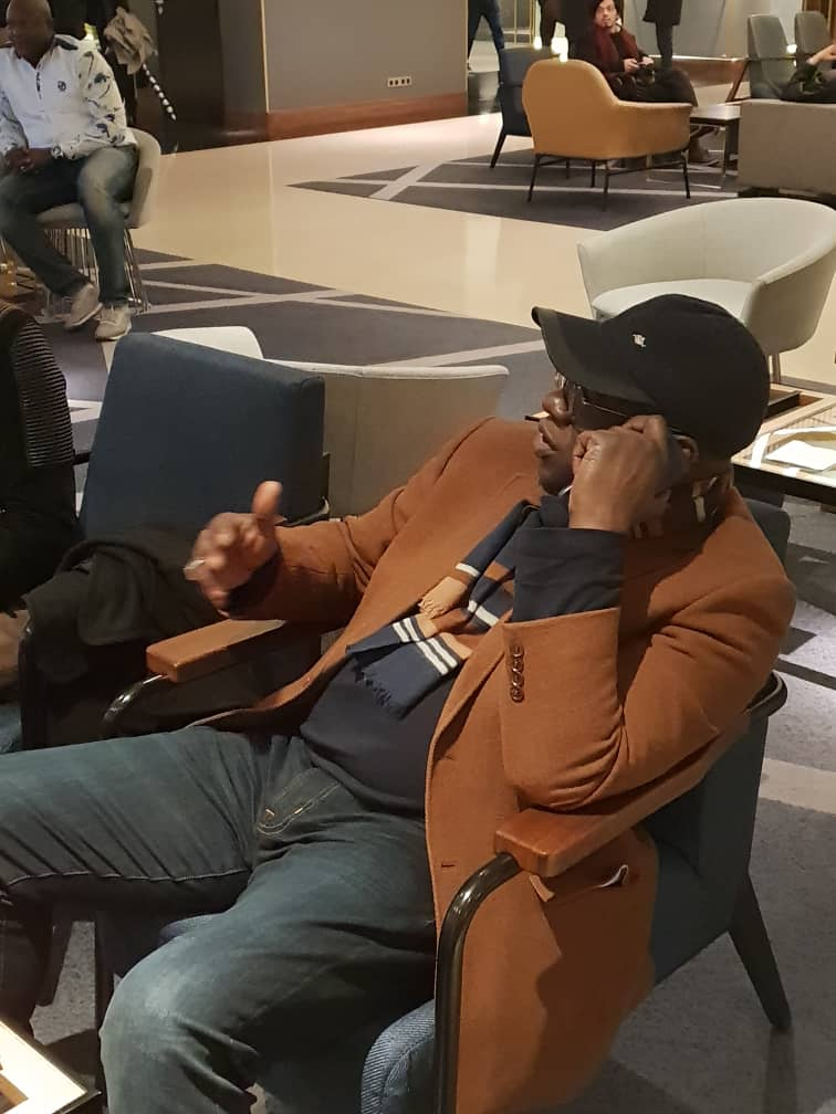 AFRICAN LEADER AWARDS CE SAMEDI 10 NOVEMBRE: Arrivés du président Mbagnick Diop et son staff à Paris