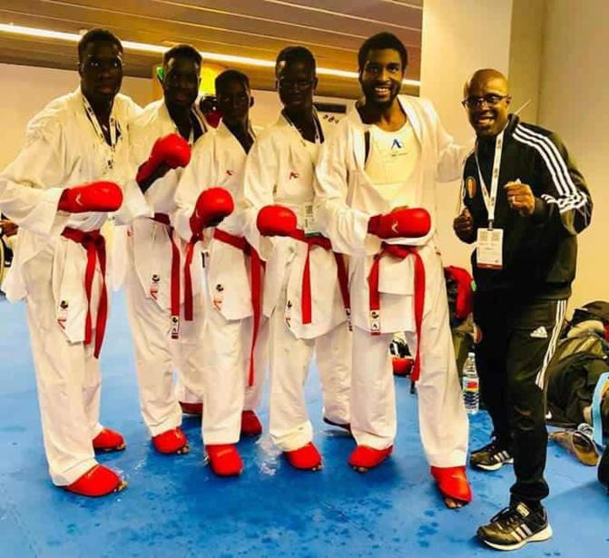 Karaté – Championnats du monde 2018: Le Sénégal perd la finale de bronze face à l'Italie et finit 5e mondial