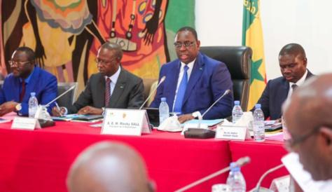 Communiqué du Conseil des ministres du 05 décembre 2018