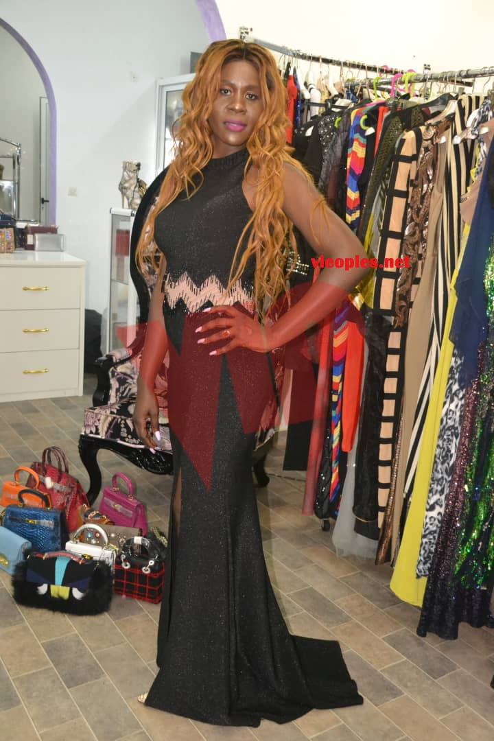 TENDANCES 2019 L\u0027 ex Miss Sénégal, Ndeye Astou Sall en mode shooting chez  Mata Style pour