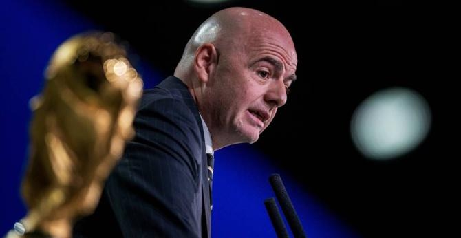 Une coupe du monde à 48 équipes dès 2022? Gianni Infantino met les bouchées doubles