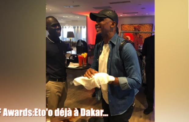 Caf Awards: Eto'o déjà à Dakar!