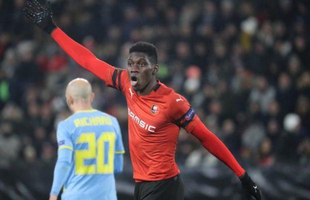 Ismaïla Sarr est bien devenu incontournable, Regardez Le but de Ismaïla qui envoie Rennes en…