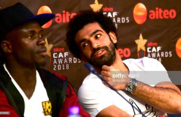 Caf Awards : la conférence de presse de Sadio Mané et Salah