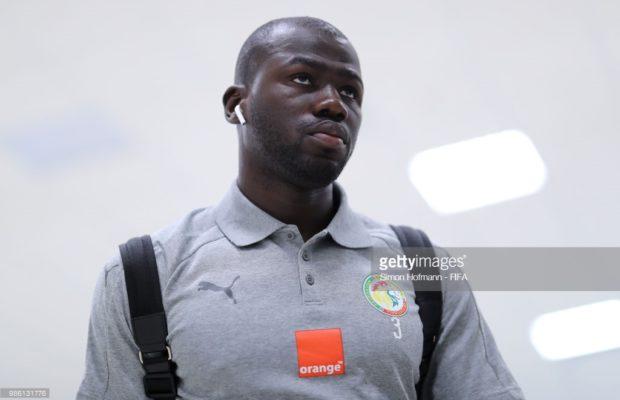 Manchester United met sur la table 100 millions d'euros pour enrôler Koulibaly