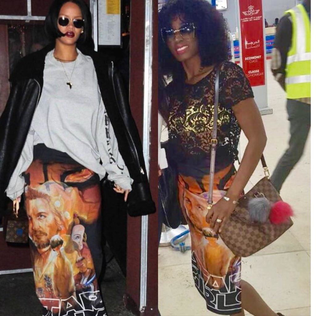 A la découverte de Queen Biz surnommé Rihanna du Sénégal …Regardez !