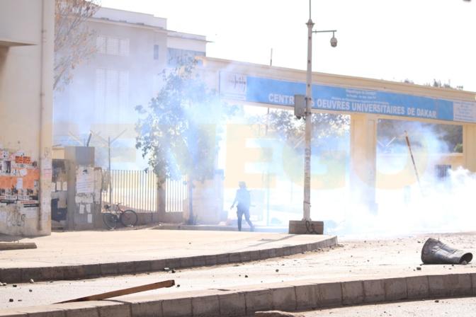 Vidéo - Ça chauffe sur l'avenue Cheikh Anta Diop